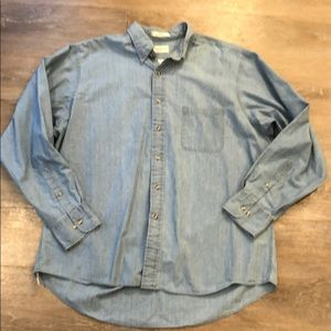 Van Heusen Denim Button Down